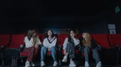 The Pinks sat together and watched multiple clips from their trainee days and reflected on what that time in their lives meant to each of them.