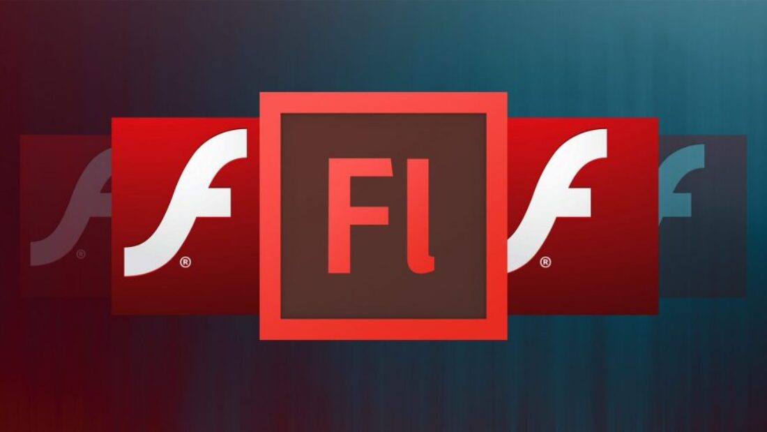 various adobe Flash logos, the letter f on red backgrounds