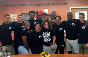 A picture of some staff members in the Office of Equity and Inclusion.