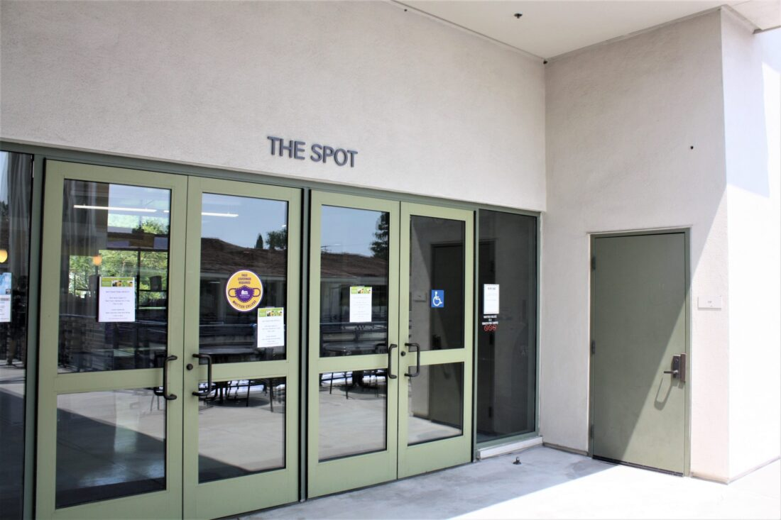 A picture of The Spot.